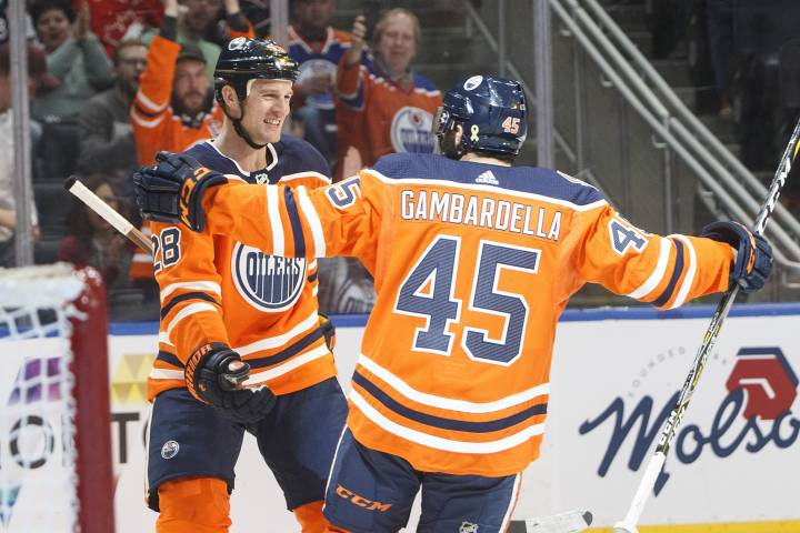 Joe Gambardella making most of call up with Edmonton Oilers
