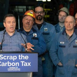 Kenney says while he believes humans cause climate change, not all UCP members have to agree on that
