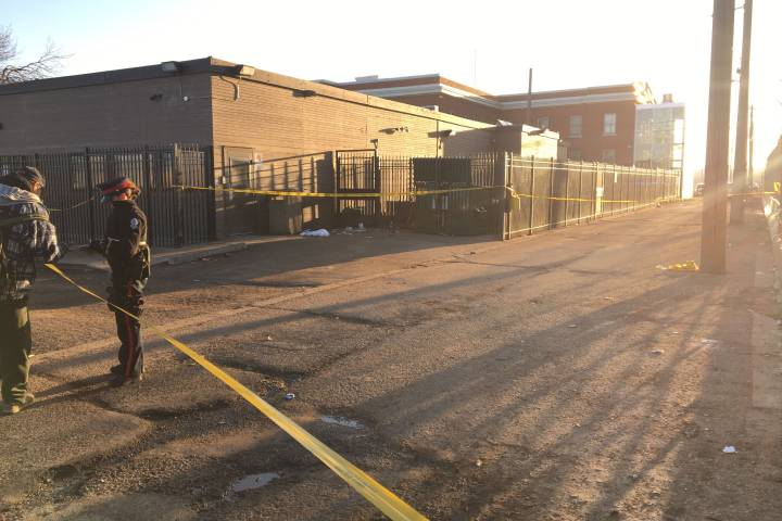 Police investigate woman's death near downtown Edmonton shelter