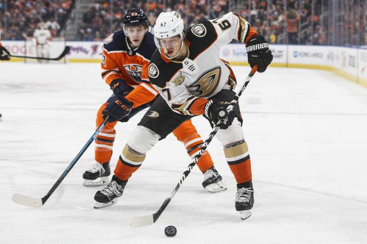 Rakell's hat trick drives Ducks past Edmonton Oilers