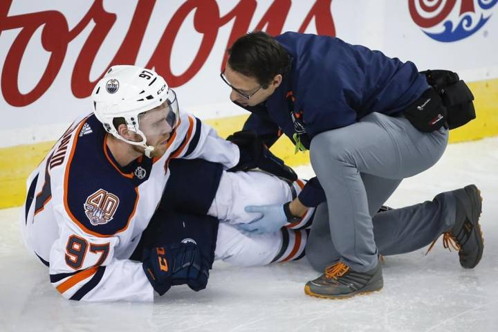 Connor McDavid is on the road to recovery, Edmonton Oilers say