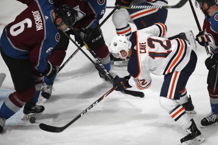 Edmonton Oilers dropped 6-2 by Avalanche