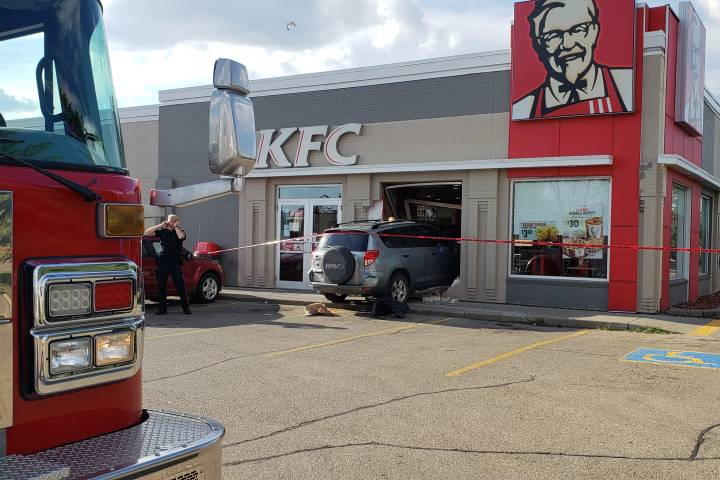 Elderly woman struck by vehicle at Edmonton KFC passes away