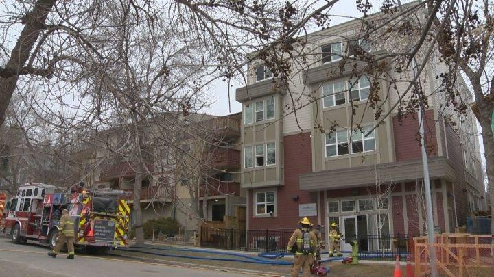 Fire prompts 23 to evacuate Bridgeland apartment building