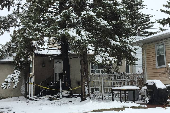 Firefighter taken to hospital after 2 house fires in Bonnie Doon area