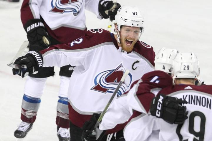 Flame out; Avs advance in NHL playoffs