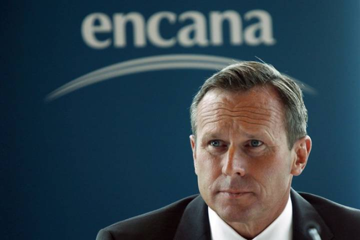Canadian oilfield would produce more if regulated in U.S., Encana CEO says