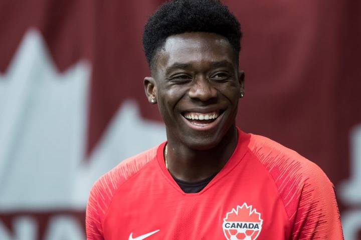 Edmonton-raised Alphonso Davies among notable names on Canada's preliminary Gold Cup roster