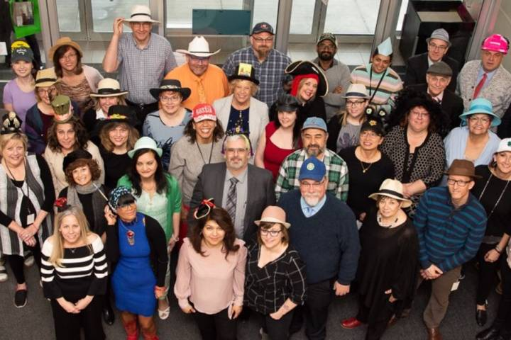 Hats On! for Mental Health gets Edmonton schools talking about tough subject