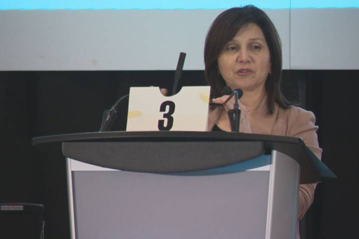 New Alberta education minister addresses teachers' conference