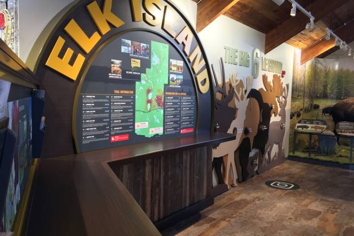 New Elk Island Visitor Information Centre unveiled ahead of busy summer season