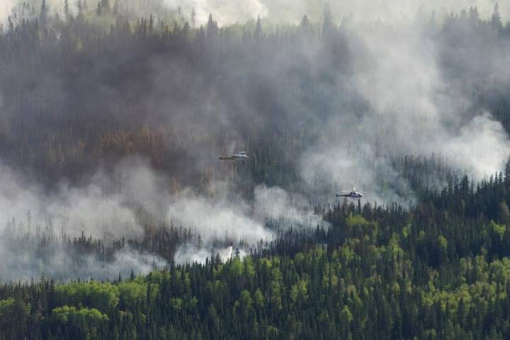 Northern Alberta Métis settlement frustrated with level of government support for wildfire threat