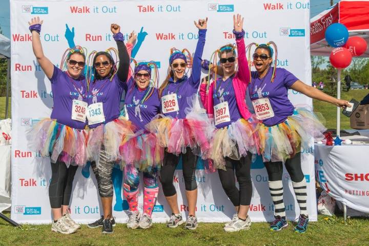Shoppers Love. You. Run for Women supports local mental health programs