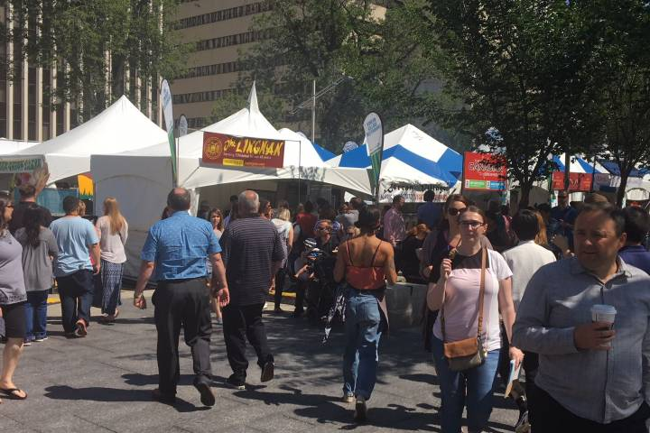 Taste of Edmonton selling food ticket via mobile app for the first time