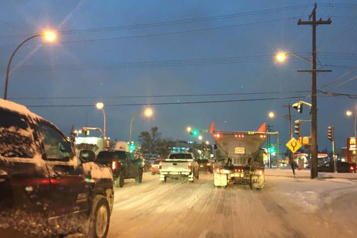 City of Edmonton says what calcium chloride may do to your vehicle is your responsibility