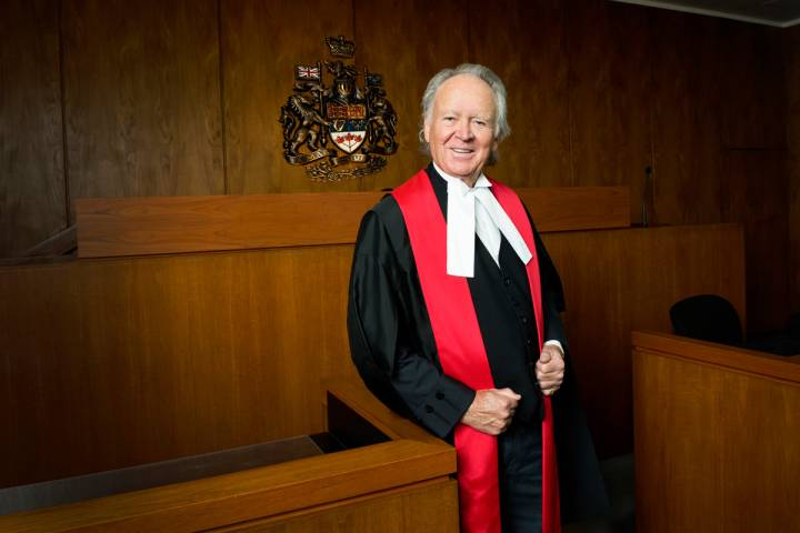 Former chief justice among three Edmontonians honoured with Order of Canada