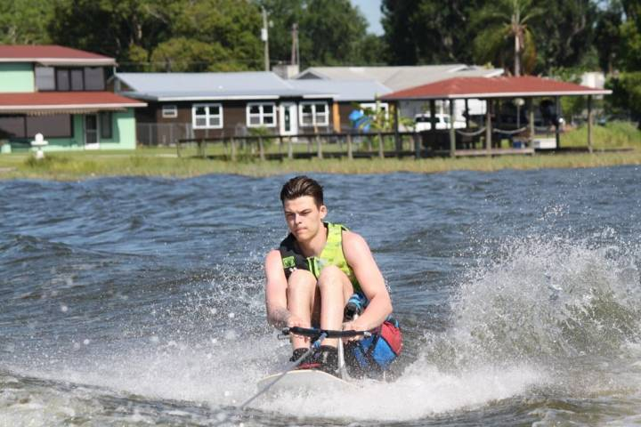 Humboldt Broncos crash survivor Jacob Wassermann finds new love in water skiing