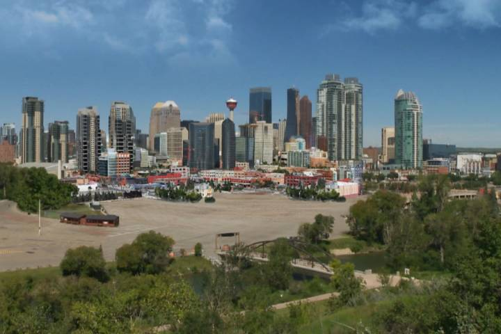 Can you picture Calgary's skyline without the Saddledome?