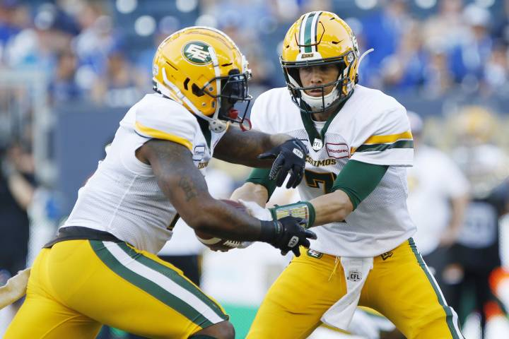 Edmonton Eskimos back in action Thursday night as they visit the B.C. Lions