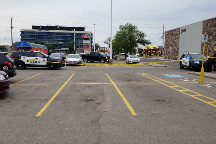 Edmonton police respond to incident near Capilano Walmart