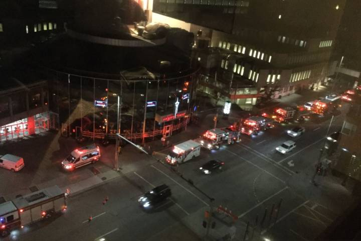 Eight people rescued after being trapped in elevator at Calgary Tower