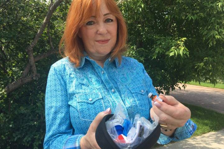 'He quite literally could've been found dead here': Calgary councillor uses naloxone kit to save man on her street