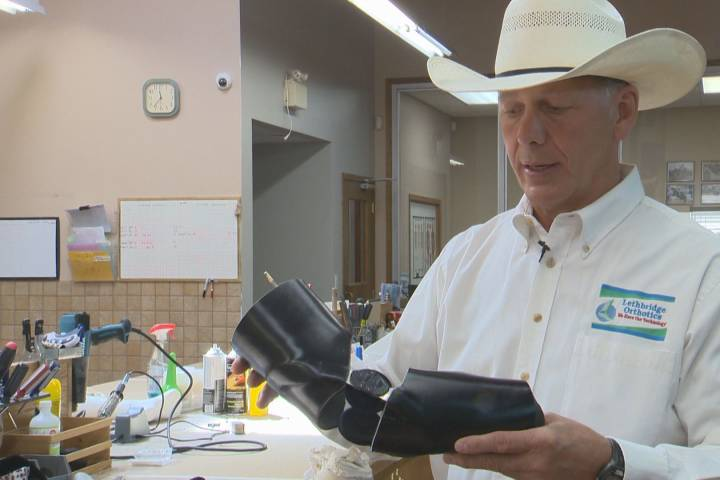 Lethbridge orthotist develops elbow brace to help keep cowboys safe