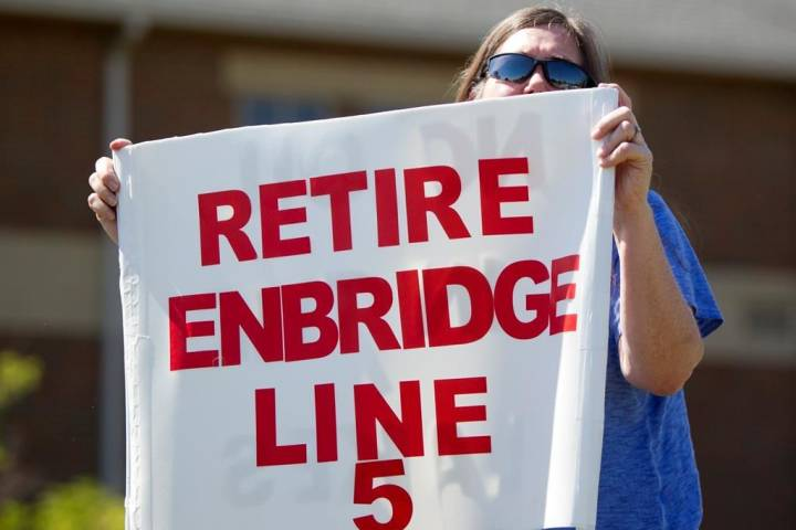 Wisconsin Native American tribe sues to have Enbridge remove Line 5 pipeline