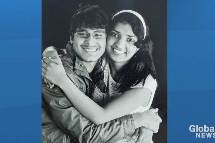 Family, friends encourage safety on roads after crash that killed Calgary siblings in 2017