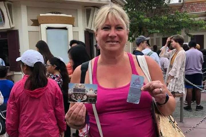 'It didn't have an expiry date! Why not try?': Edmonton-area woman redeems 34-year-old free Disneyland pass