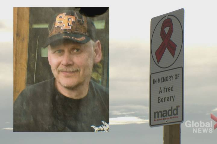 MADD Canada's first-ever Alberta roadside memorial pays tribute to Calgary man