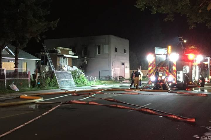 North Edmonton home, building damaged by fire