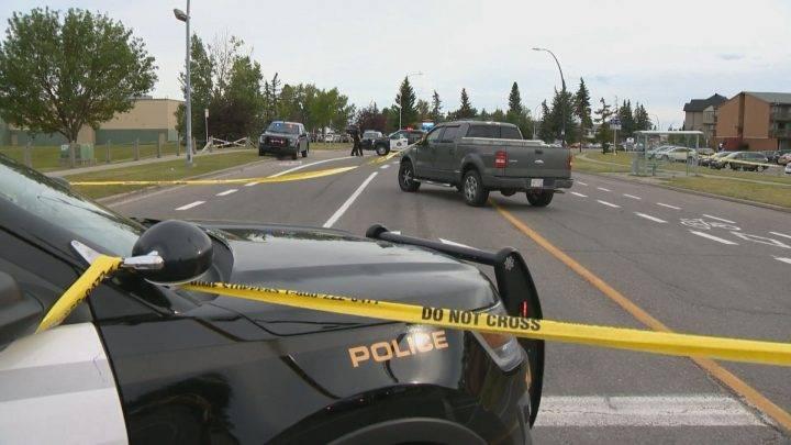 Pedestrian hit by vehicle in northeast Calgary