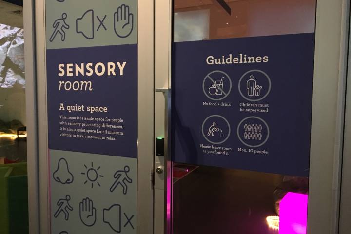 Royal Alberta Museum pilots sensory room for those with special needs