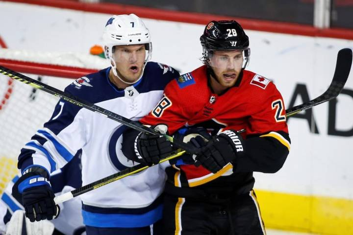 Calgary Flames ground Winnipeg Jets 2-0 in pre-season tilt