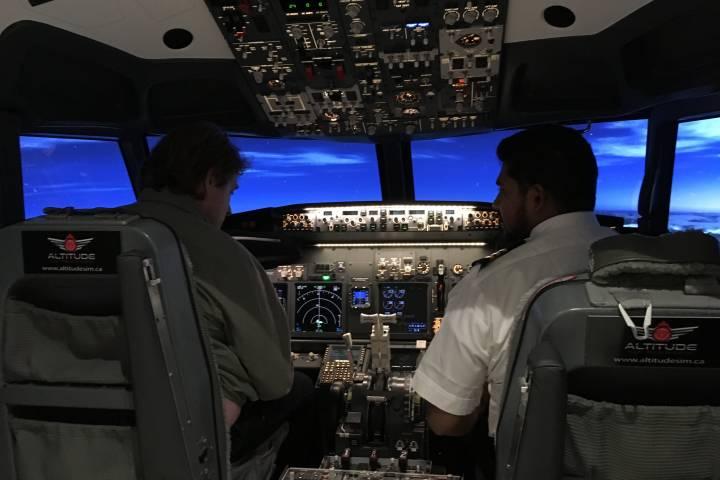Calgary Syrian newcomer opens public simulation flight centre in Alberta