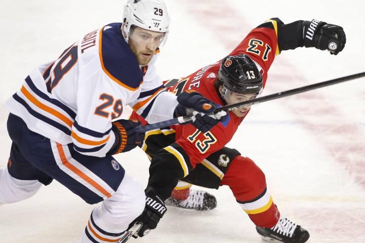 Edmonton Oilers fall to Flames in pre-season finale