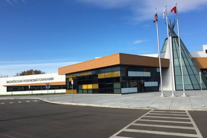 Enoch Cree Nation celebrates opening of new school