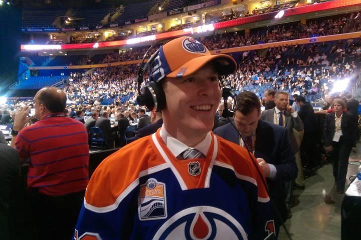 Healthy Tyler Benson aims to crack Edmonton Oilers lineup
