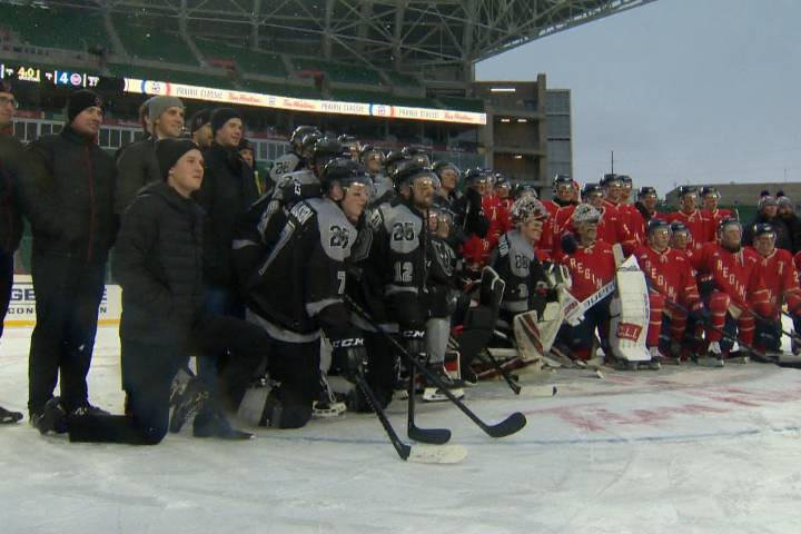 Calgary Hitmen close out Prairie Classic with a win in front of family, friends