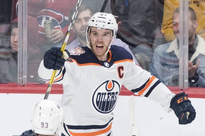 Edmonton Oilers' McDavid, Winnipeg Jets' Laine named NHL stars of the week