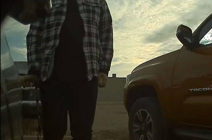 Edmonton Tesla owner shares Sentry Mode video of car vandalism online