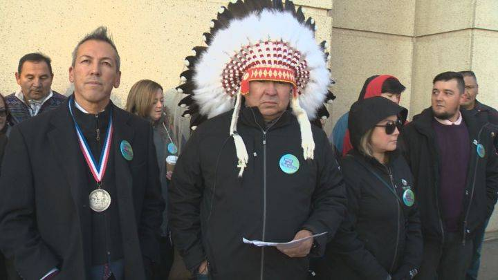 Fort McKay First Nation chief calls for treaty rights to be upheld as legal battle over oilsands project continues