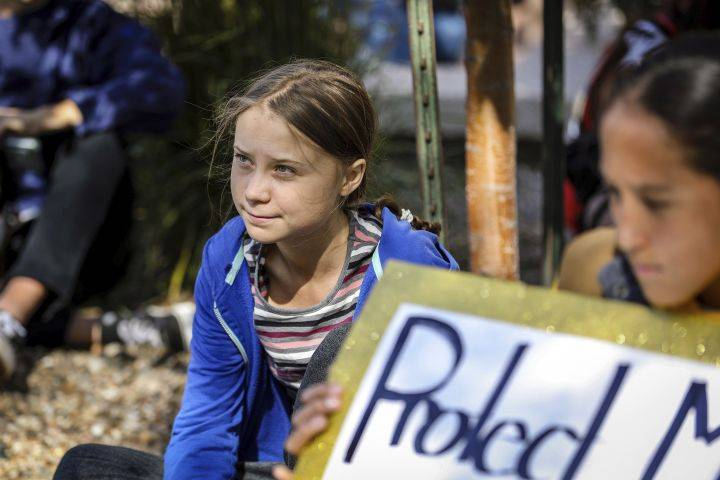 Greta Thunberg touring Dakotas reservations, concerned about Keystone XL pipeline's path