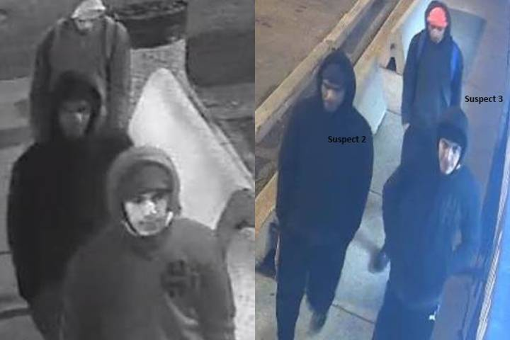 Police seek suspects after south Edmonton grocery store robbed at gunpoint