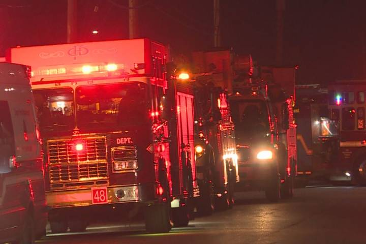 CFD investigating fire in Forest Lawn mobile home park