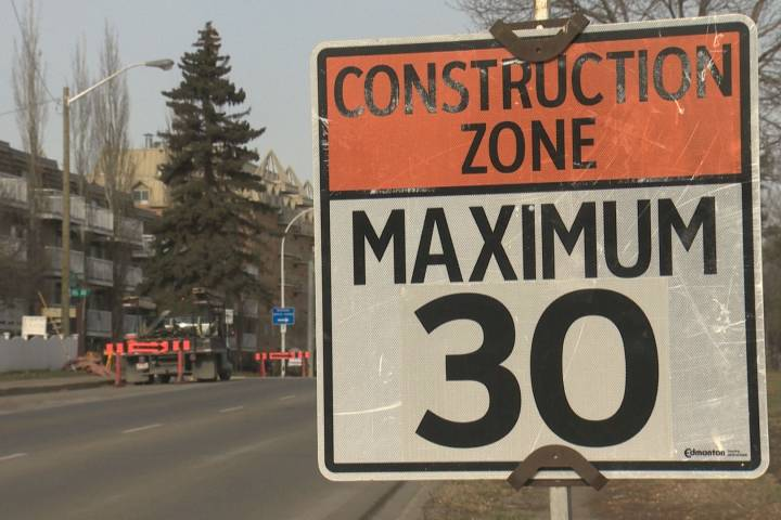 Cold weather delays multiple construction projects in Edmonton