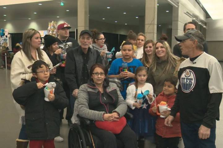 Disney on Ice skater from Edmonton performs in front of family for 1st time