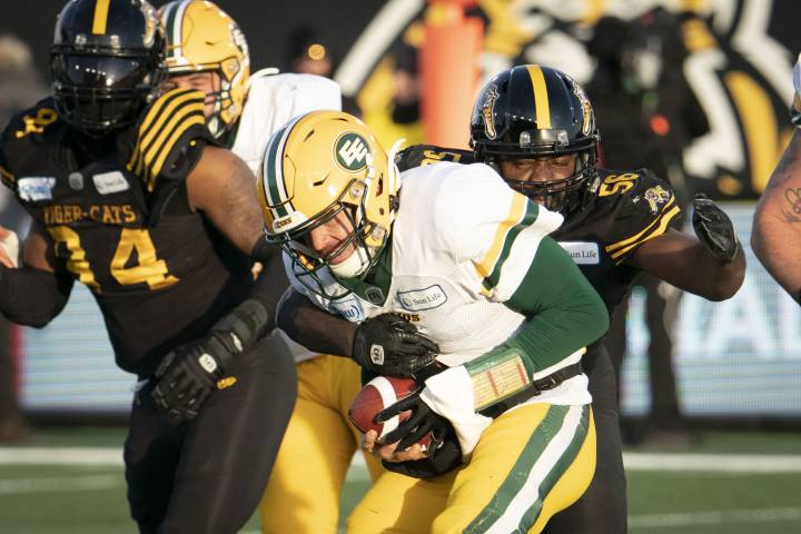 Eskimos defeated by Tiger-Cats in East Division final