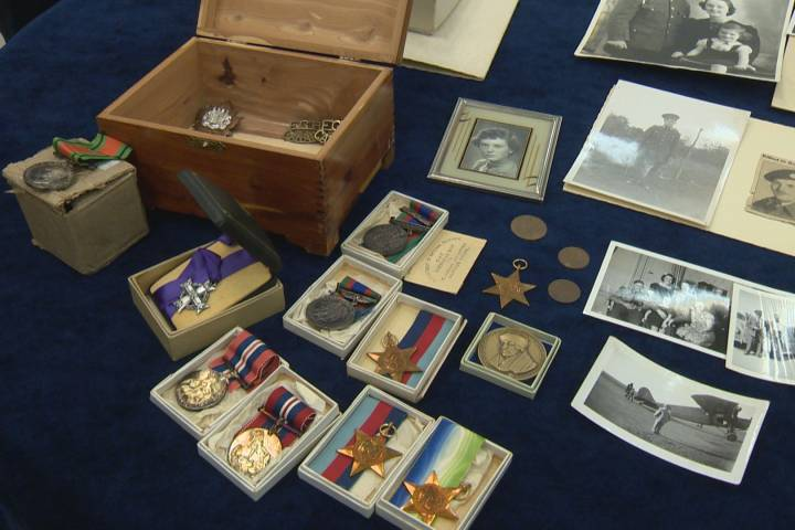 Fallen Second World War soldier's medals donated to Goodwill store in Calgary